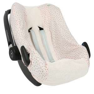 Trixie car seat cover Moonstone cotton pink