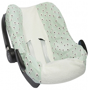 Trixie car seat cover Sheep Maxi-Cosi Pebble cotton green