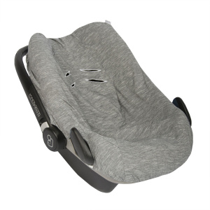 Trixie car seat cover Slim Stripes cotton grey