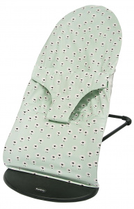 Trixie protective cover Sheep bouncer babybjörn cotton green