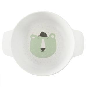 Trixie bol avec anses Mr. Polar Bearjunior 14 x 5 cm vert bambou