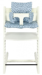 Trixie chair reducer Blue Meadow junior cotton light blue