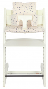 Trixie chair smaller leaves Stokke Tripp Trapp cotton white
