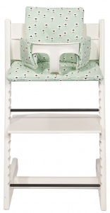 Trixie chair reducer Sheep Stokke Tripp Trapp cotton green
