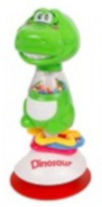 Toys Amsterdam chair toy dino junior 20 cm green