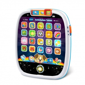 VTech activity tablet Baby 20 x 17 cm blue