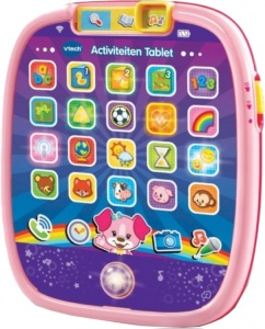 VTech activity tablet Baby 20 x 17 cm pink