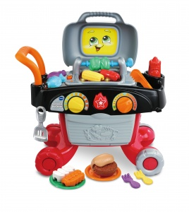 VTech Gril & Leer Barbecue 17-delig multicolor