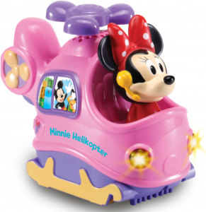 VTech helikopter Minnie Mouse junior 12,7 cm roze/paars