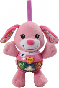 VTech hug and play puppy pink