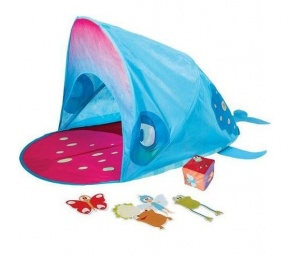 Worlds Apart play tent Make Wally Well blue 130 cm