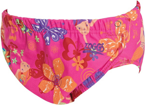 Zoggs adjustable nappy Mermaid Flowergirls pink size 62-92
