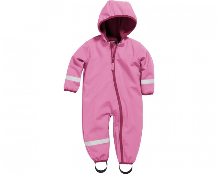 Playshoes softshell overall roze junior