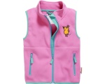 Playshoes bodywarmer fleece Muis junior roze