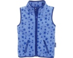 Playshoes bodywarmer Sterren fleece junior blauw