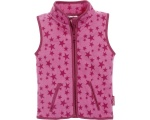 Playshoes bodywarmer Sterren fleece junior roze