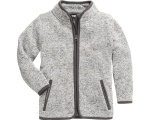 Playshoes fleecejack Knit fleece junior grijs