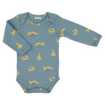 Trixie romper Whippy Weasel lang junior blauw